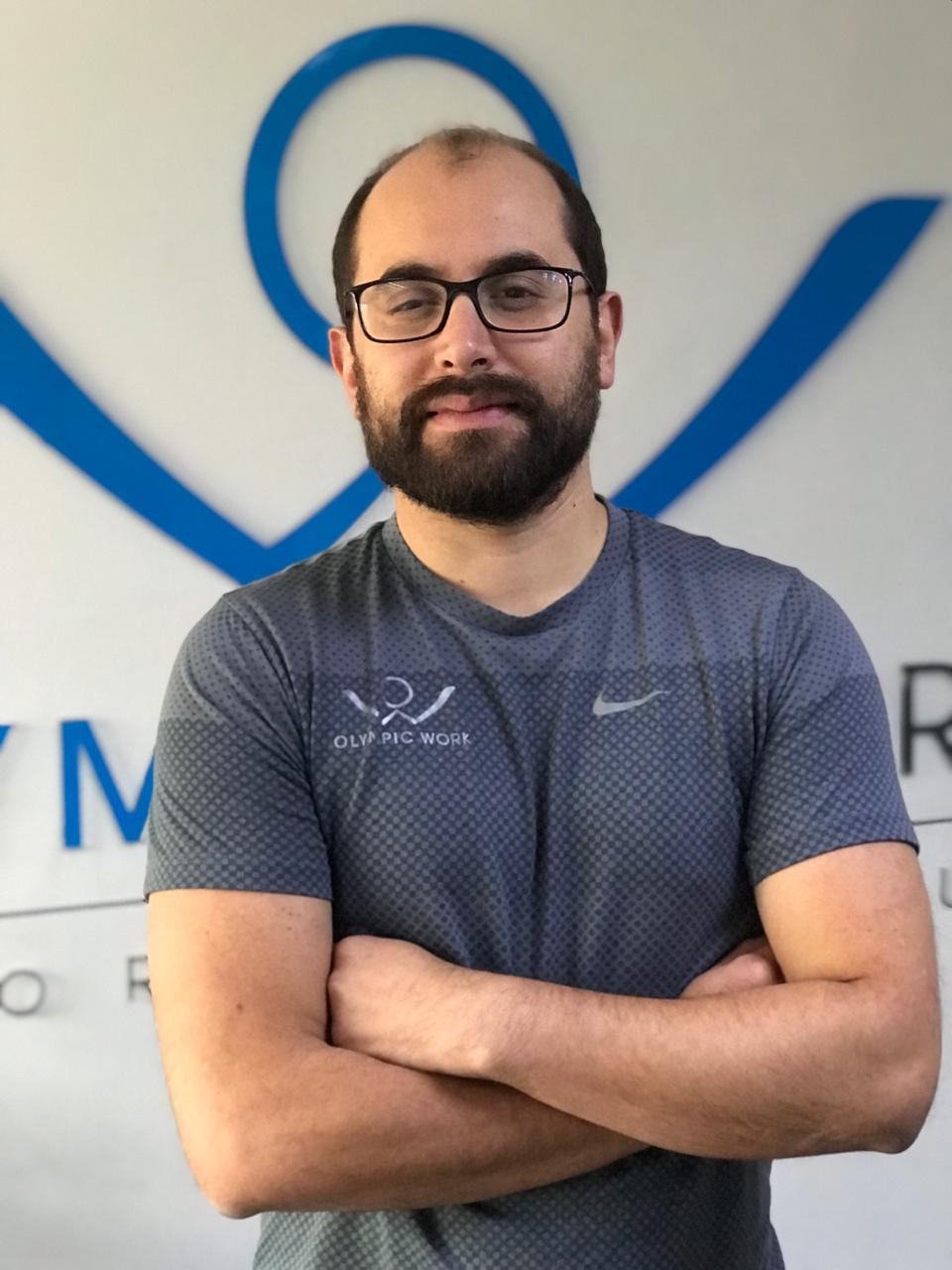 Kinesiologo deportivo Bernardo Guzman